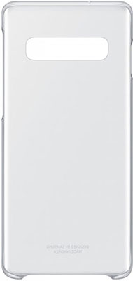 Чехол (клип-кейс) Samsung S 10 (G 973) ClearCover clear EF-QG 973 CTEGRU аксессуар чехол samsung j3 2017 j330f zibelino clear view black zcv sam j330 blk