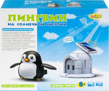 Конструктор электронный OCIE Пингвин на солнечной энергии (OTE 0640021)