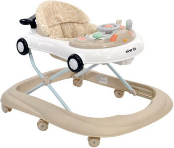 Ходунки Everflo Little Driver beige WT 715 ПП100004381