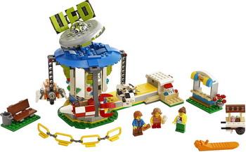 цена на Конструктор Lego Creator 31095 Ярмарочная карусель