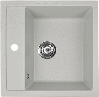Кухонная мойка Respecta Cubo RC-51 серый жемчуг RC51.107 цена