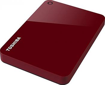 Фото - Внешний жесткий диск (HDD) Toshiba 2TB 2.5'' RED HDTC920ER3AA toshiba canvio advance usb 3 0 2тб hdtc920er3aa красный
