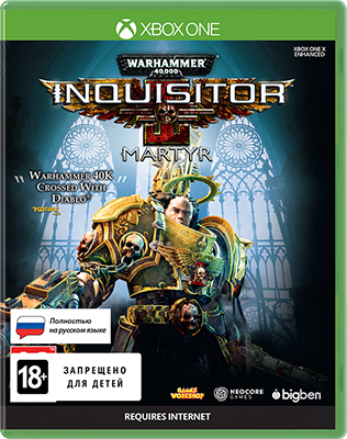 Игра для приставки Microsoft Xbox One Warhammer 40 000: Inquisitor - Martyr. Standard Edition цена и фото