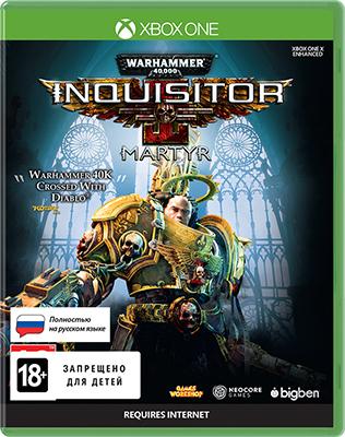 Игра для приставки Microsoft Xbox One Warhammer 40 000: Inquisitor - Martyr. Standard Edition