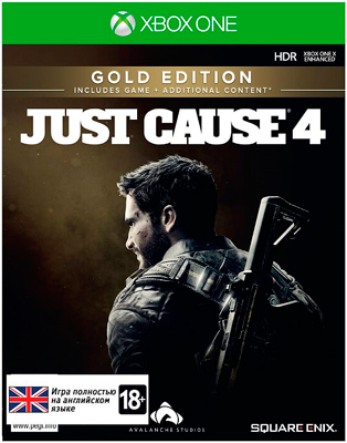 Игра для приставки Microsoft Xbox One Just Cause 4 Золотое издание