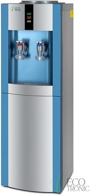 Кулер для воды Ecotronic H1-LCE silver-blue цена