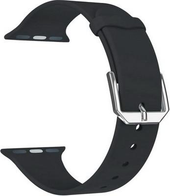Фото - Ремешок для часов Lyambda для Apple Watch 38/40 mm ALCOR DS-APS08C-40-BK защитное стекло skinbox apple watch 38mm