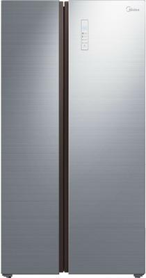 Холодильник Side by Side Midea MRS 518 WFNGX встраиваемый холодильник side by side kuppersbusch kei 9750 0 2 t сталь