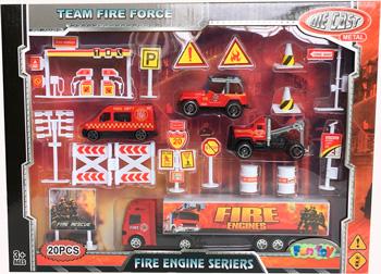 Сюжетно-ролевая игра Fun Toy Набор пожарной техники 44414/1
