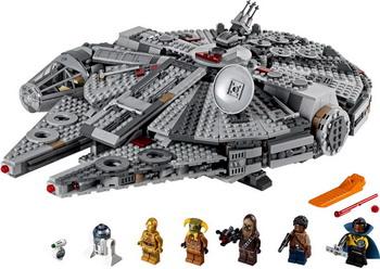бомбер printio star wars deaign Конструктор Lego STAR WARS ''Сокол Тысячелетия'' 75257