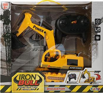 Экскаватор Fun Toy с джойстиком 44425
