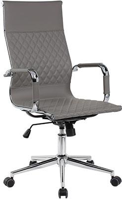 Кресло Riva Chair 6016-1 S Cерый (Q-022) лонгслив q s designed by q s designed by qs006emgqbp4