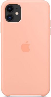 Фото - Чехол (клип-кейс) Apple для iPhone 11 Silicone Case - Grapefruit MXYX2ZM/A чехол клип кейс apple silicone case для iphone 8 7 цвет product red красный mqgp2zm a