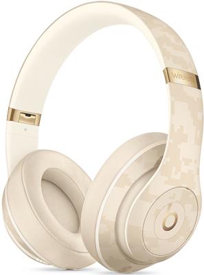 Фото - Беспроводные мониторные наушники Beats Studio3 Wireless Headphones - Beats Camo Collection - Sand Dune MWUJ2EE/A zipper up hooded camo quilted vest