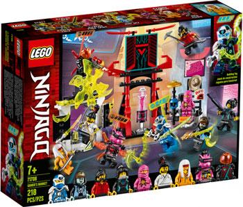 Конструктор Lego Ninjago Киберрынок 71708 lego ninjago конструктор крыло судьбы 70650