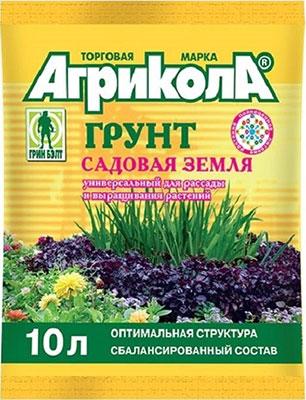 Грунт Агрикола Садовая земля  10 л  58-065
