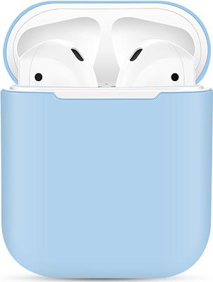 Фото - Чехол силиконовый Eva для наушников Apple AirPods 1/2 - Голубой (CBAP03BL) домашние тапочки coqui eva