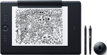 Фото - Графический планшет Wacom Intuos Pro L (PTH-860-R)https://www.wacom-store.ru/intuos-pro-l-paper/ графический планшет wacom intuos pro medium pth 660 r
