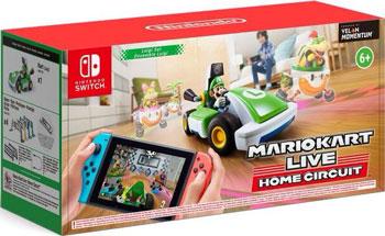 Игра для приставки Nintendo Switch Mario Kart Live: Home Circuit набор Luigi