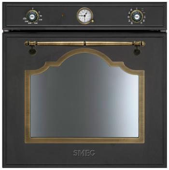 Встраиваемый электрический духовой шкаф Smeg SF 750 AO духовой шкаф smeg sf700bs