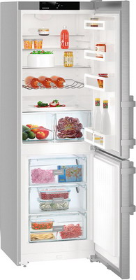 Двухкамерный холодильник Liebherr CUef 3515-20 liebherr cn 3515 20
