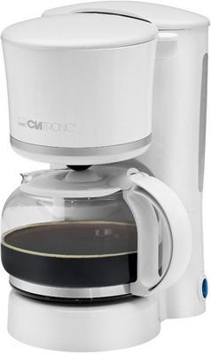 Кофеварка Clatronic KA 3555 weiss-silber вафельница clatronic wa 3491 weiss