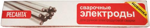 Электрод Ресанта, МР-3 Ф2 5 Пачка 3 кг 71/6/19, Россия  - купить со скидкой
