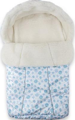 Конверт Idea Kids BaBy 75 x 45 белый мех зима Голубой недорго, оригинальная цена