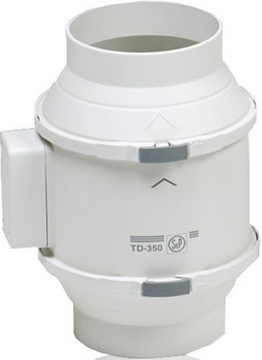 Канальный вентилятор Soler & Palau TD-350/125 (белый) 03-0101-208 сушилка rix rxd 125 белый