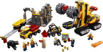 Конструктор Lego City Mining: Шахта 60188 конструктор lego city mining 60184 бригада шахтеров