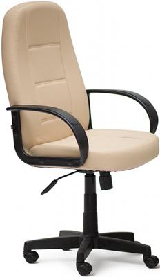 Кресло Tetchair СН747 (кож/зам Бежевый PU C 36-34) офисное кресло tetchair maxima хром кож зам бежевый pu c 36 34