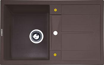 Кухонная мойка Zigmund & Shtain Rechteck 780 швейцарский шоколад zigmund amp shtain rechteck 775 2 швейцарский шоколад