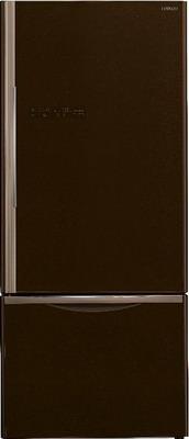 Двухкамерный холодильник Hitachi R-B 572 PU7 GBW двухкамерный холодильник hitachi r v 662 pu7 bsl серебристый бриллиант