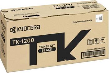 Картридж Kyocera TK-1200 картридж mak© tk 130 черный для лазерного принтера