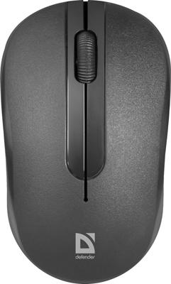 Фото - Беспроводная оптическая мышь Defender Datum MM-285 черный мышь беспроводная defender datum mm 035 чёрный usb 52035