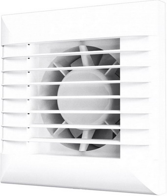 Вентилятор вытяжной с автоматическими жалюзи и фототаймером ERA EURO 5A ETF вентилятор эра 5s etf с фототаймером d125