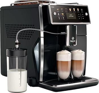 Кофемашина автоматическая Philips Saeco SM 7580/00 кофе машина philips saeco hd 8911