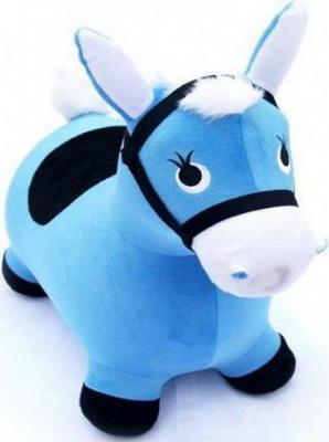 Лошадка-попрыгунчик Shantou Gepai голубая цена