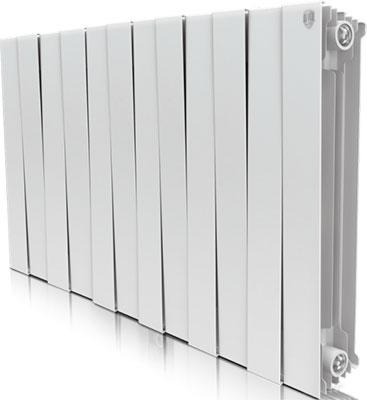 Водяной радиатор отопления Royal Thermo PianoForte 500/Bianco Traffico - 12 секц. радиатор отопления royal thermo pianoforte 500 silver satin 10 секц
