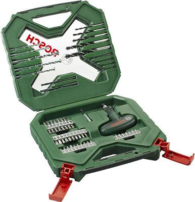 Набор бит и сверл Bosch X-Line 54 шт. 2607010610 цена и фото