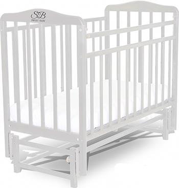 Детская кроватка Sweet Baby Flavio Bianco (Белый) 392 623