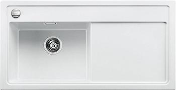 Кухонная мойка BLANCO 523912 ZENAR XL 6S-F чаша слева SILGRANIT белый с кл.-авт. InFino
