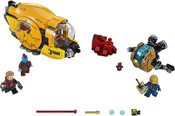 Конструктор Lego SUPER HEROES Месть Аиши 76080-L lego super heroes 76080 конструктор лего супер герои месть аиши