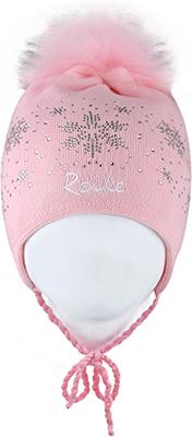 Шапочка Reike RKN 1718-1 WLC pink р.52 Розовый сандалии для девочки скороход цвет ярко розовый 16 282 1 размер 23