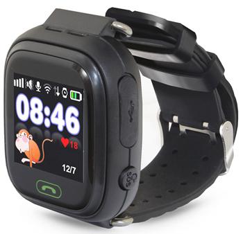 Детские часы-телефон Ginzzu 16139 505 black 1.22'' Touch micro-SIM детские часы телефон ginzzu 16139 505 black 1 22 touch micro sim