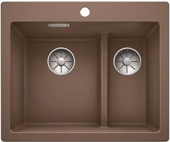 Кухонная мойка Blanco PLEON 6 Split мускат без клапана 521697 цена