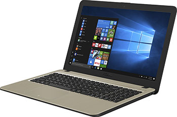 Ноутбук ASUS X 540 MA-GQ 297 (90 NB0IR1-M 04590) черный+мышь ноутбук asus x 555 bp xx 297 t 90 nb0d 32 m 04190 черный