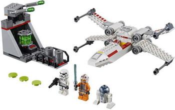 Конструктор Lego Звёздный истребитель типа X (4) 75235 Star Wars