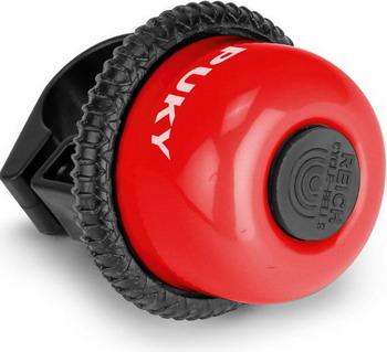 звонок для самокатов и велосипедов 11а 01 210093 красный Звонок Puky G 18 9843 red красный