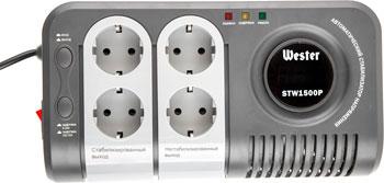 Фото - Стабилизатор напряжения WESTER STW 1500 P stw